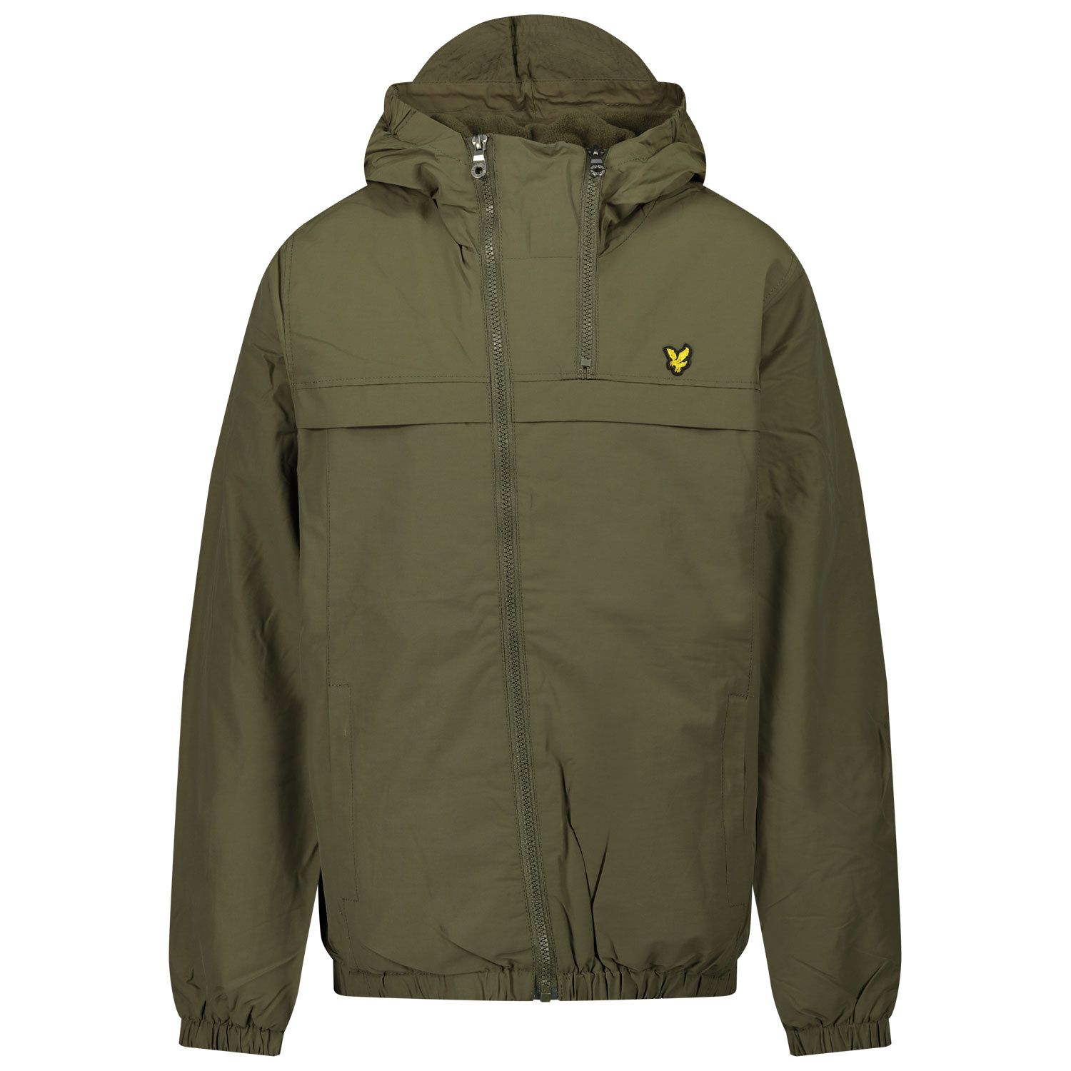 Picture of Lyle & Scott LSC0874 kids jacket army