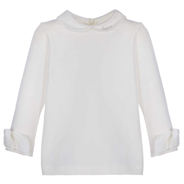 Afbeelding van Lapin 212E2088 baby t-shirt off white