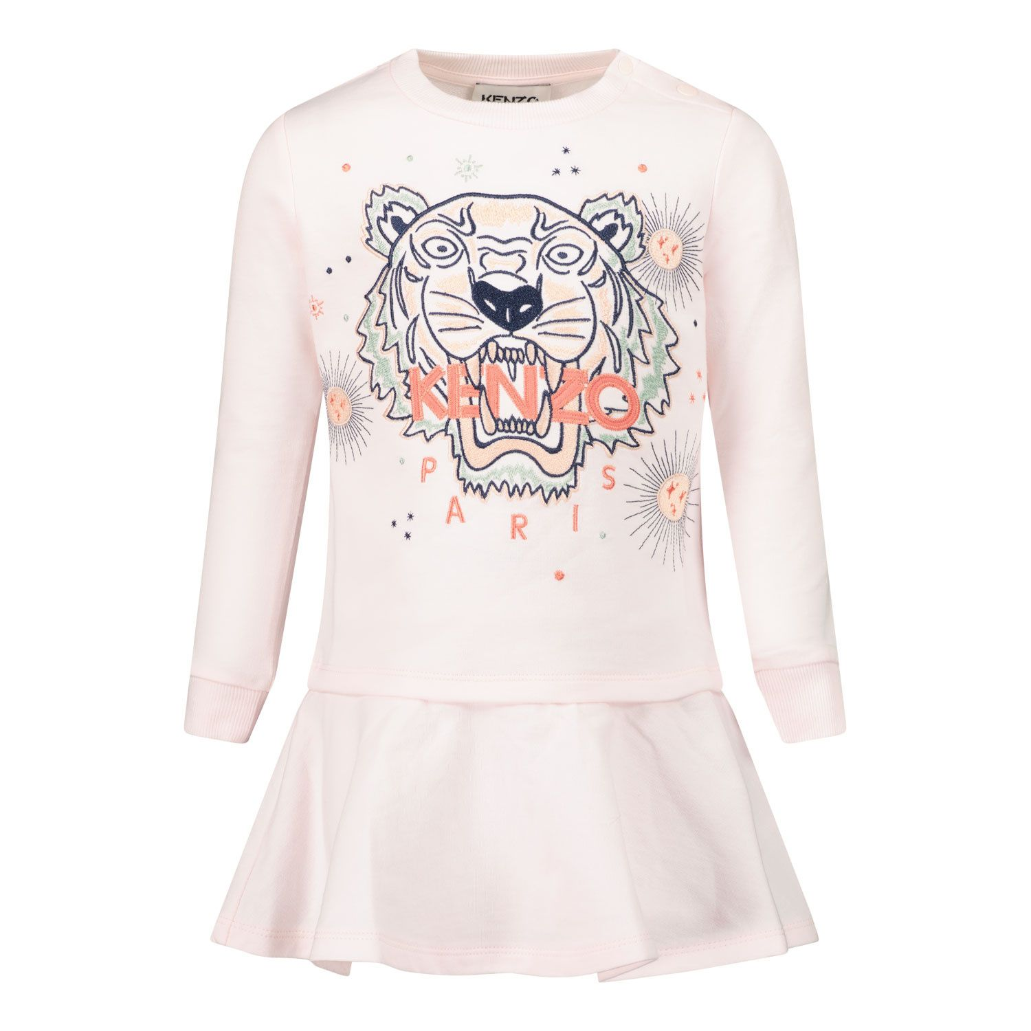 Picture of Kenzo K02023 baby dress light pink