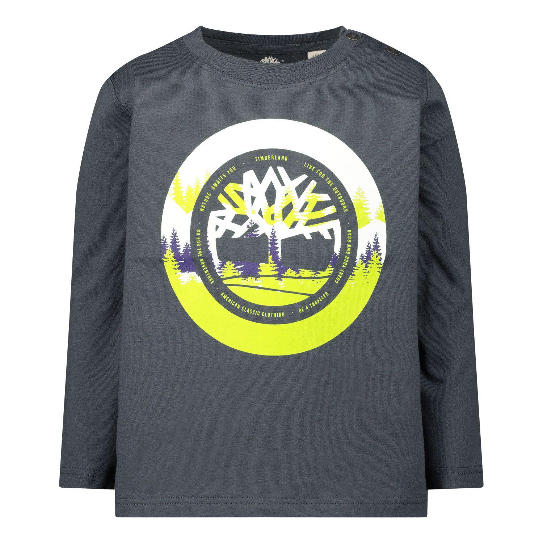 Bild von Timberland T05J42 Baby-T-Shirt Dunkelgrau