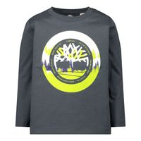Picture of Timberland T05J42 baby shirt dark gray