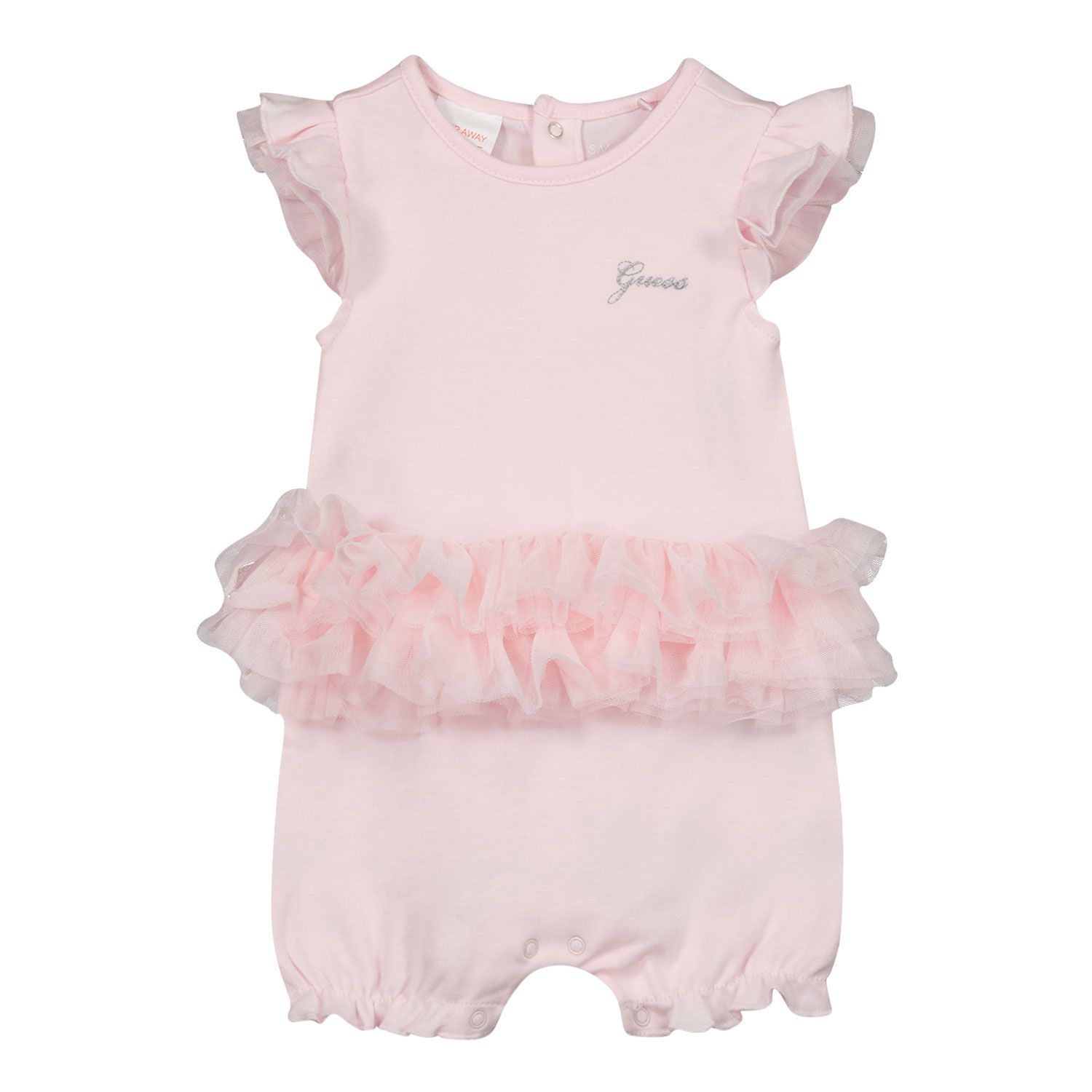 Picture of Guess S1RG12 baby playsuit light pink