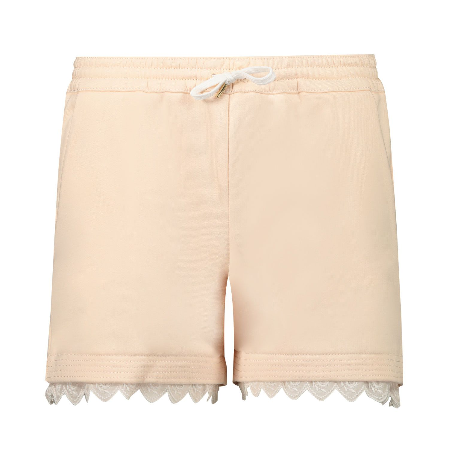 Picture of Chloé C14659 kids shorts salmon