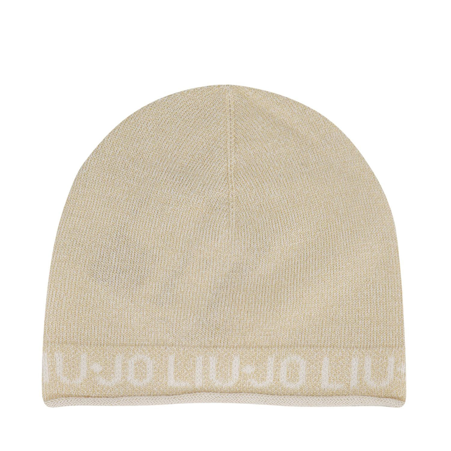 Picture of Liu Jo HF0025 baby hat gold