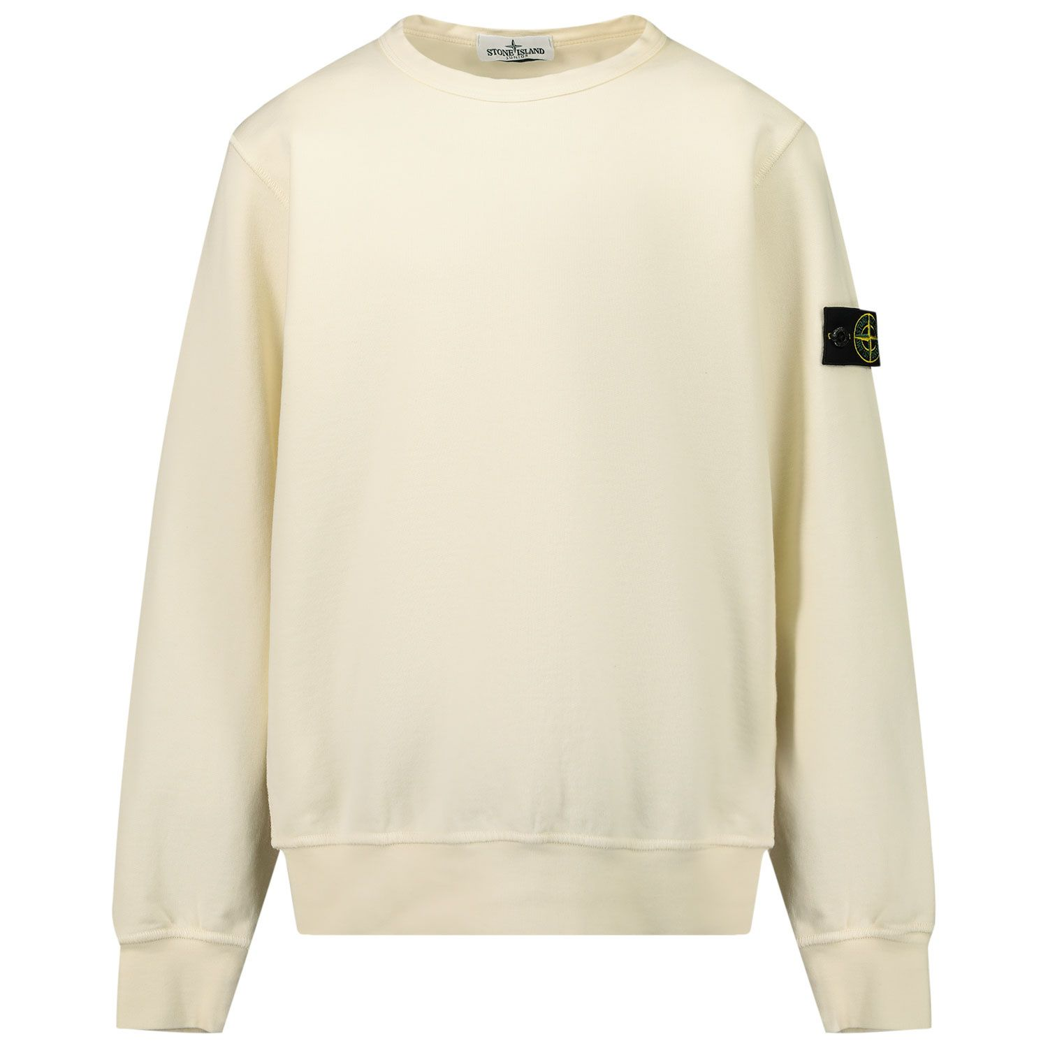 Picture of Stone Island 61340 kids sweater off white