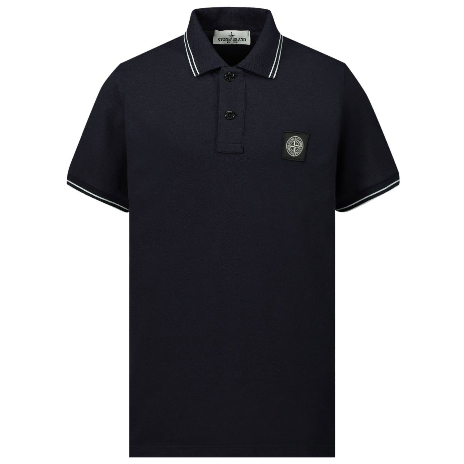 Picture of Stone Island MO731621348 kids polo shirt navy