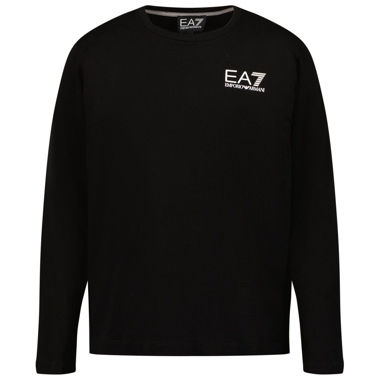 Picture of EA7 6KBT52 kids t-shirt black
