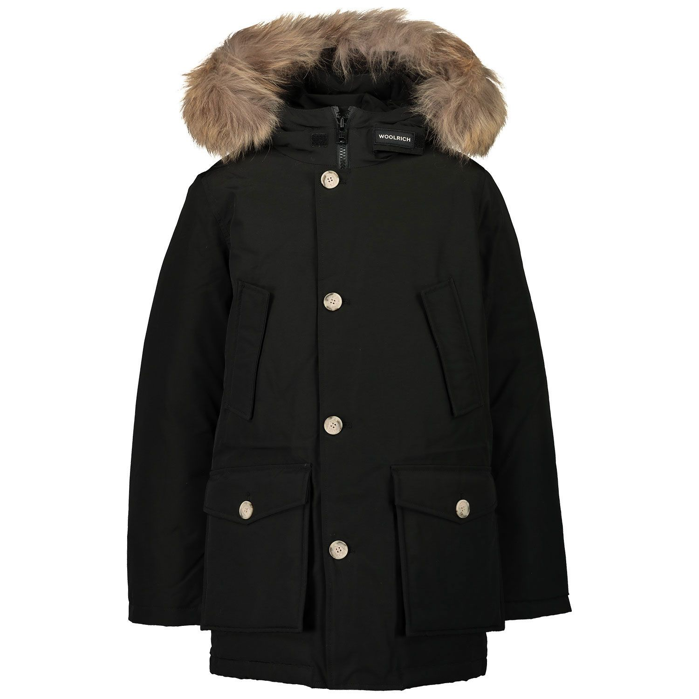 Picture of Woolrich CFWKOU0187 kids jacket black