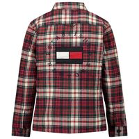 Picture of Tommy Hilfiger KB0KB06164 kids jacket red