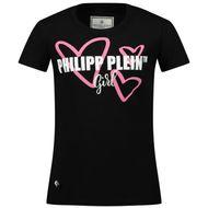 Afbeelding van Philipp Plein GTK0665 kinder t-shirt zwart