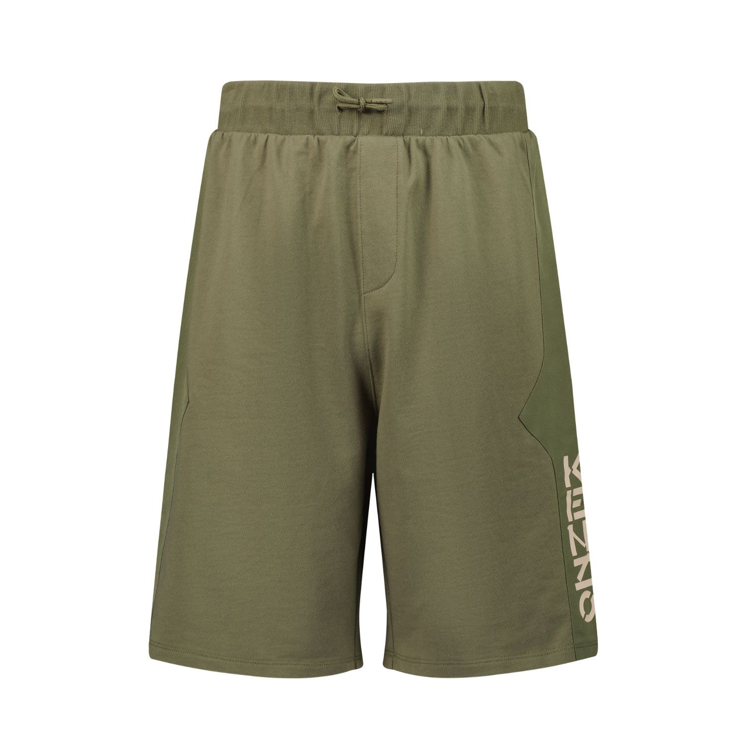Picture of Kenzo K24037 kids shorts army