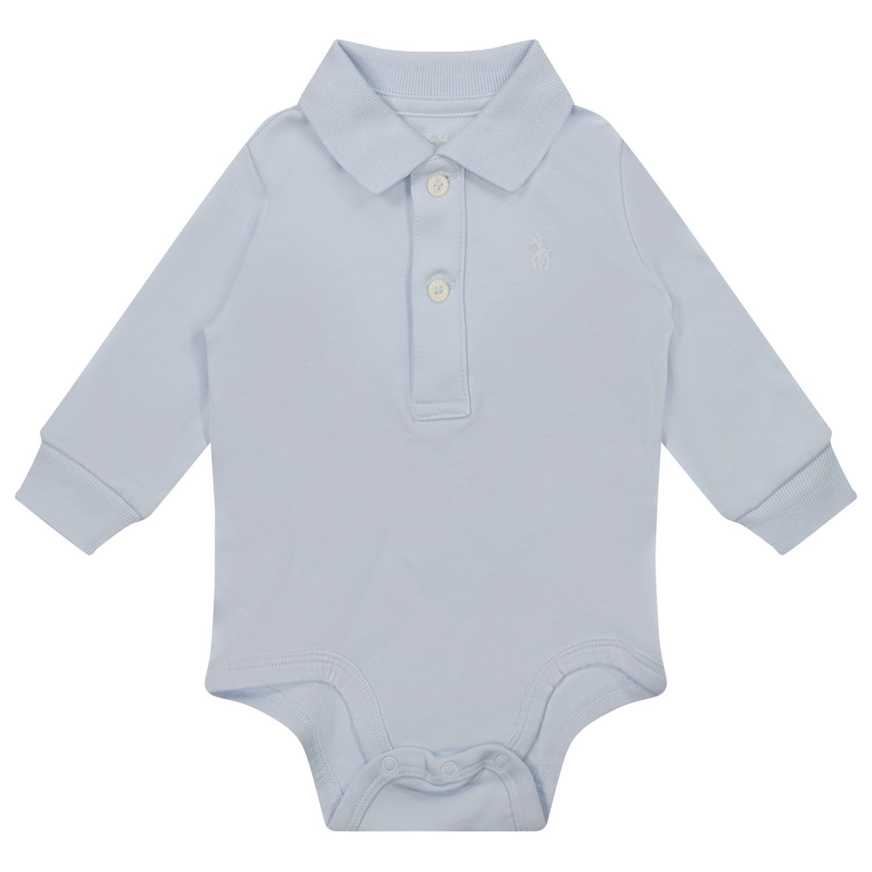 Bild von Ralph Lauren 799699 Babystrampler Hellblau
