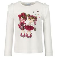 Picture of Mayoral 4062 kids t-shirt cyclamen