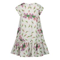 Picture of MonnaLisa 115921 kids dress white