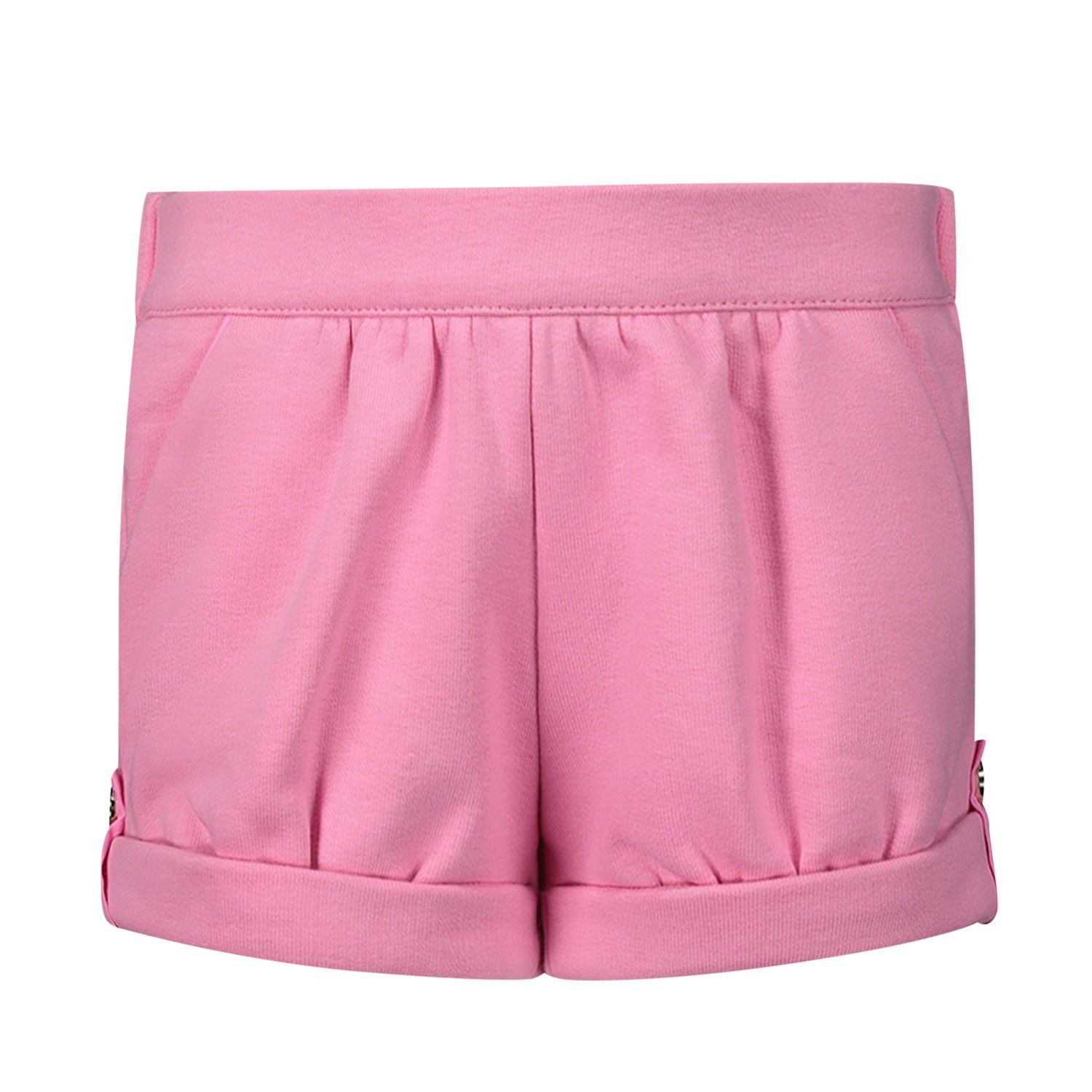 Picture of Chloé C04153 baby shorts fuchsia