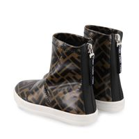 Picture of Fendi JMR311 kids boots brown