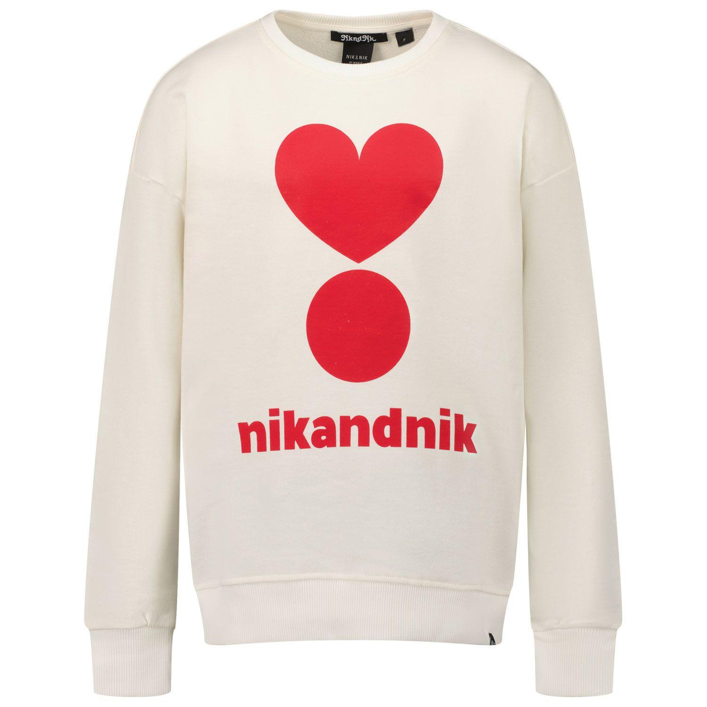 Afbeelding van NIK&NIK G8950 kindertrui off white