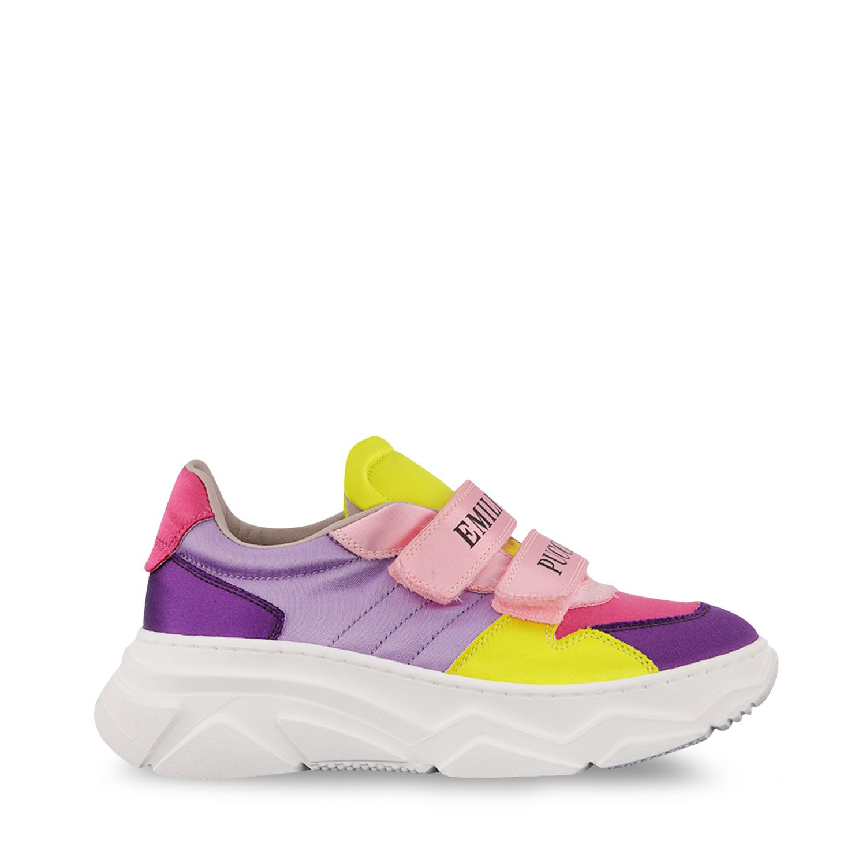 Afbeelding van Pucci 9O0286 kindersneakers fuchsia
