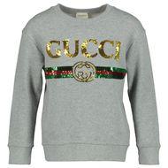 Afbeelding van Gucci 561658 kindertrui grijs