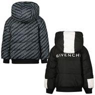 Afbeelding van Givenchy H06050 babyjas zwart