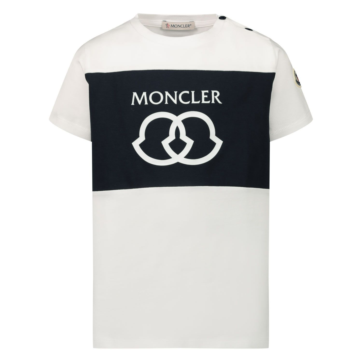 Picture of Moncler 8C71820 baby shirt white
