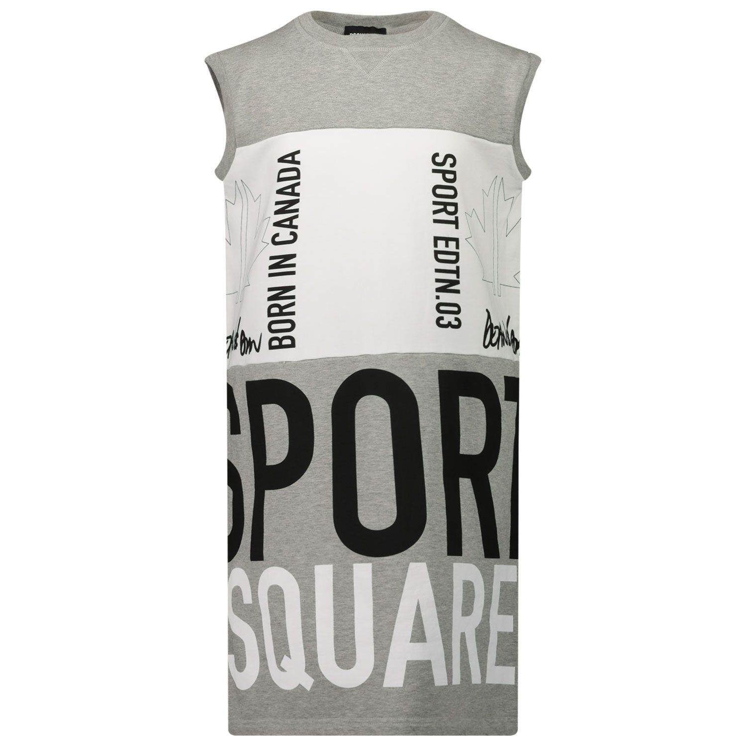 Picture of Dsquared2 DQ0025 kids dress grey