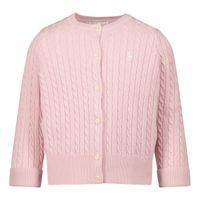 Picture of Ralph Lauren 310543047 baby sweater light pink