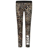 Picture of MSGM 25035 kids tights panther