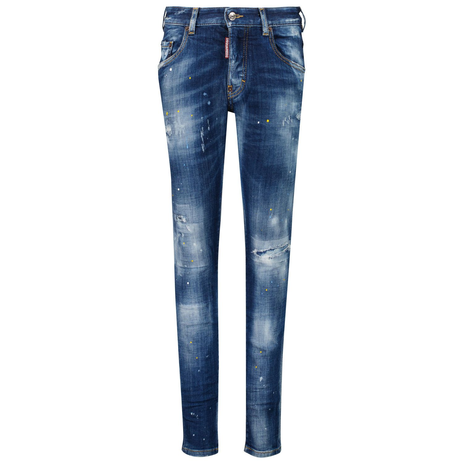 Picture of Dsquared2 DQ03LD D007U kids jeans jeans