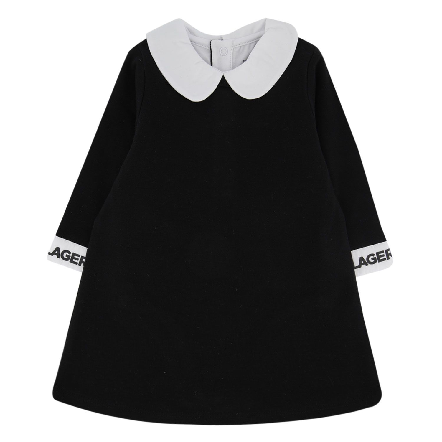 Picture of Karl Lagerfeld Z92015 baby dress black