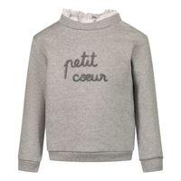 Picture of Tartine et Chocolat TT15011 baby sweater grey