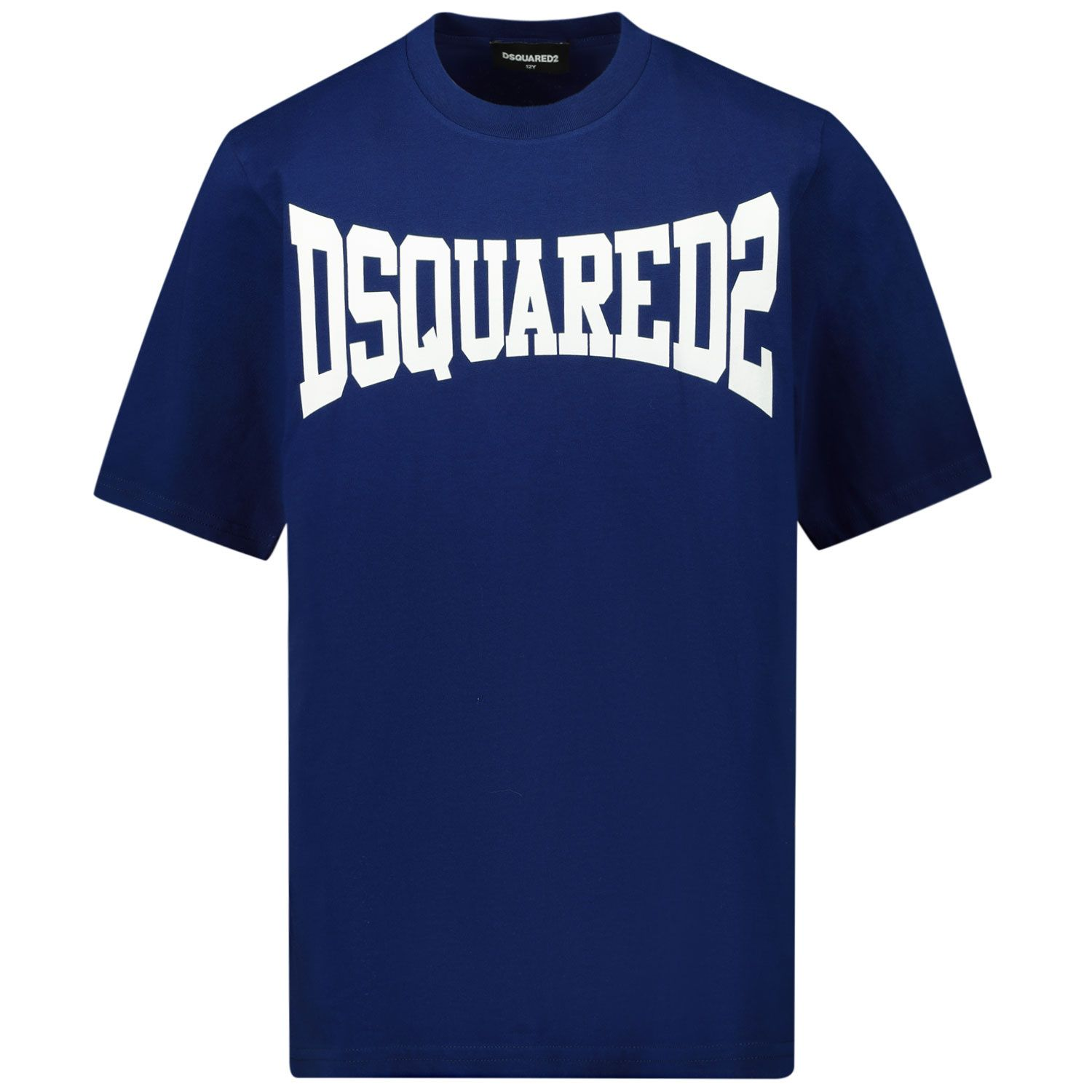 Picture of Dsquared2 DQ0156 kids t-shirt blue