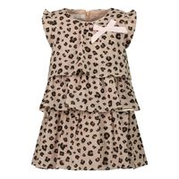 Picture of Liu Jo HA1035 baby dress panther