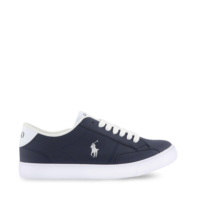 Picture of Ralph Lauren RF102978 kids sneakers navy