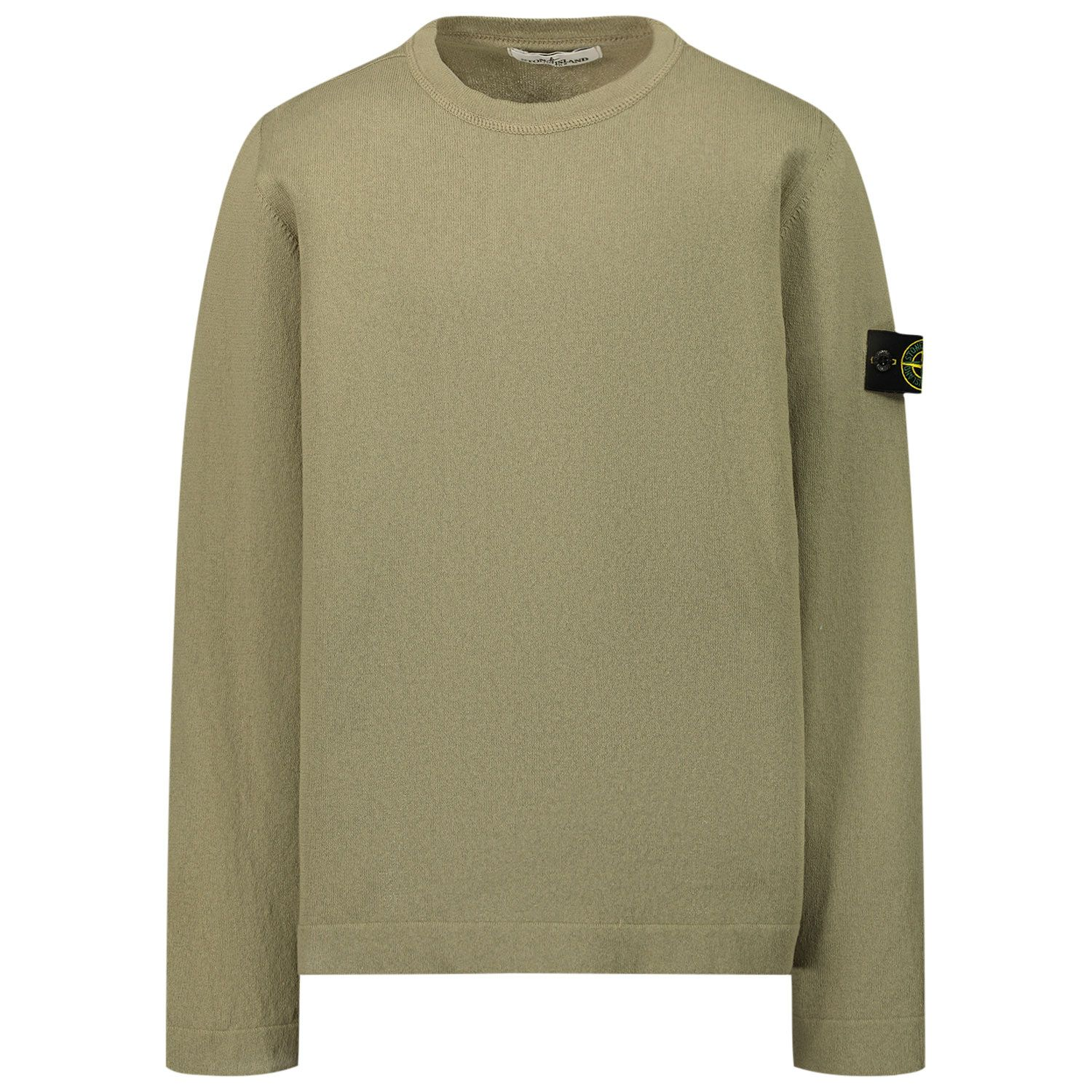 Picture of Stone Island 509A2 kids sweater beige