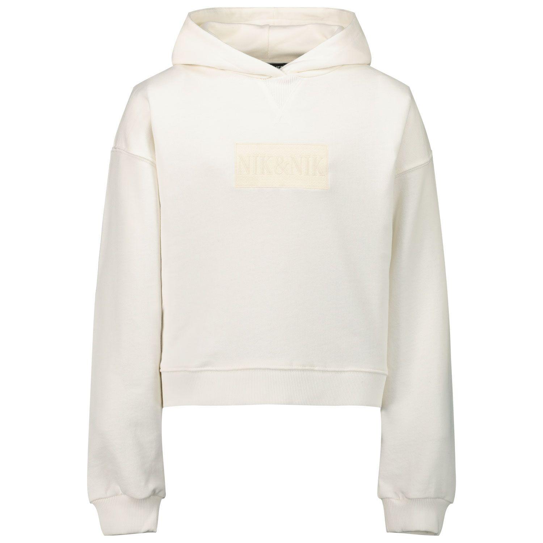 Picture of NIK&NIK G8350 kids sweater off white