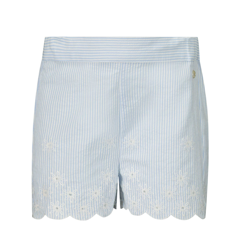 Afbeelding van Tartine et Chocolat TS26001 baby shorts licht blauw