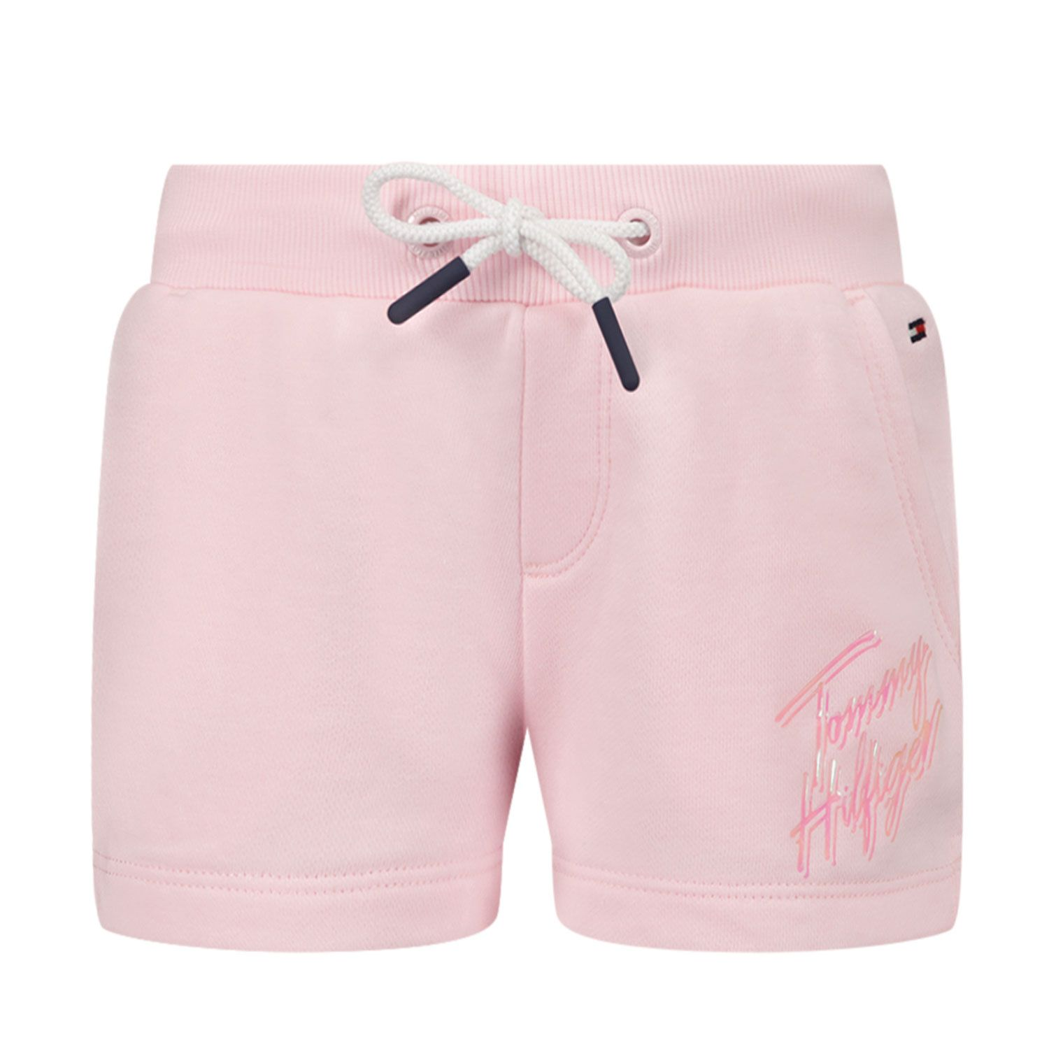 Picture of Tommy Hilfiger KG0KG05899 B baby shorts light pink