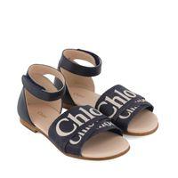 Picture of Chloé C19128 kids sandals navy