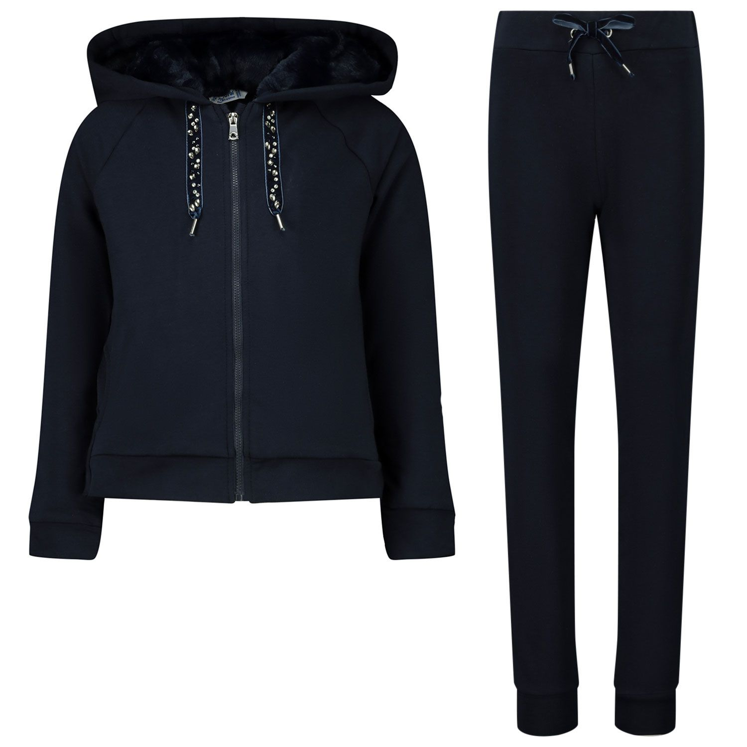 Picture of Mayoral 4823 kids sweatsuit navy