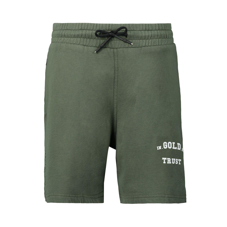 Afbeelding van In Gold We Trust KIDS SHORT BASIC kinder shorts army