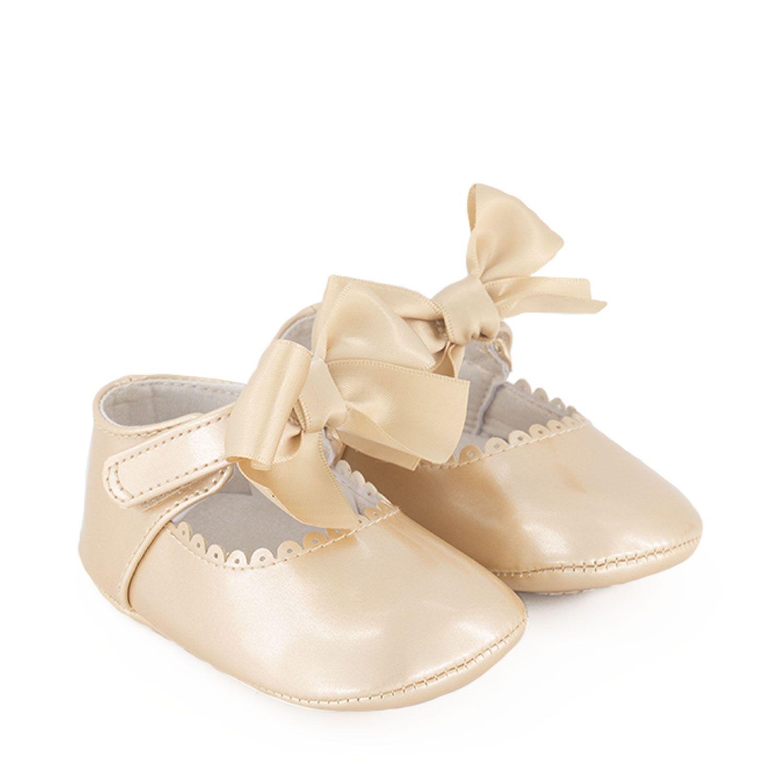 Afbeelding van Mayoral 9455 babyschoenen goud
