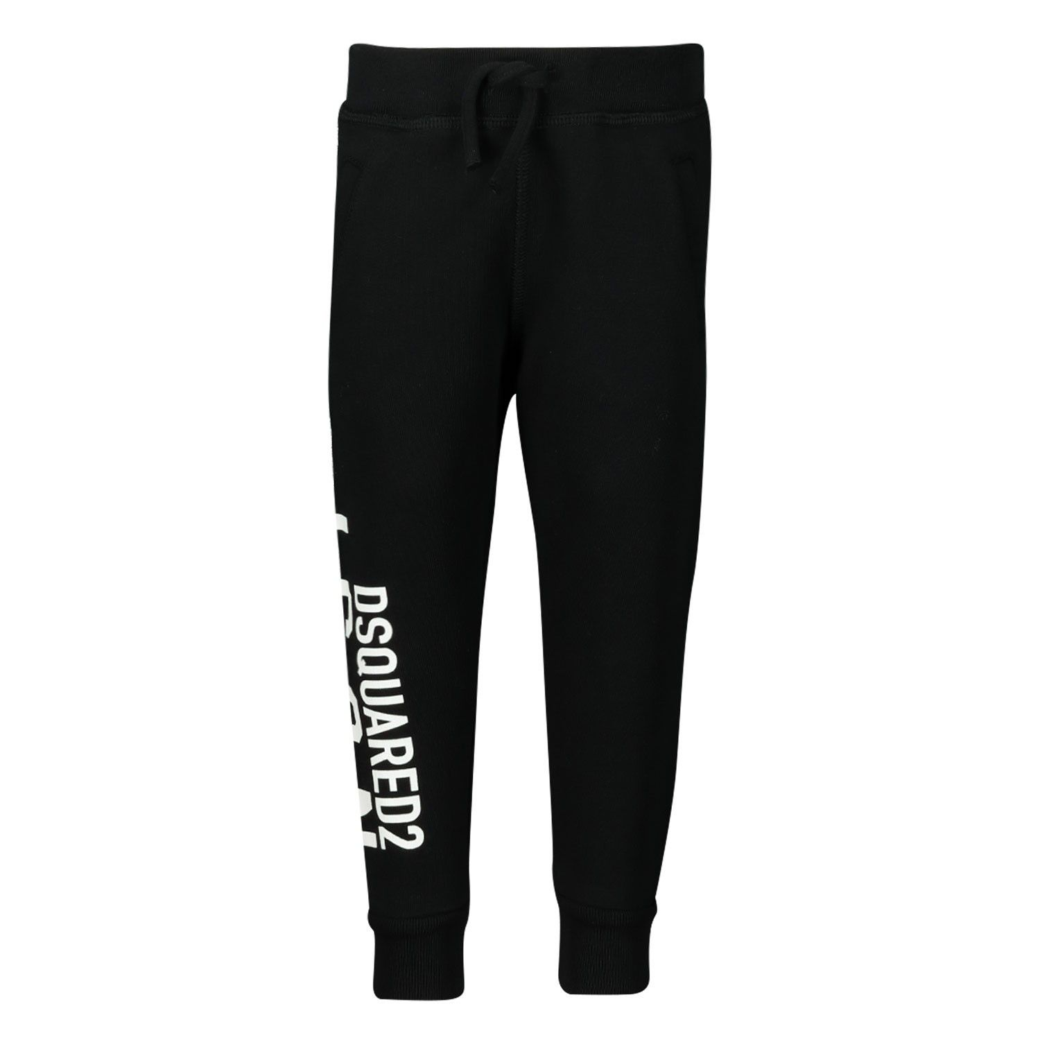 Picture of Dsquared2 DQ04F3 baby pants black