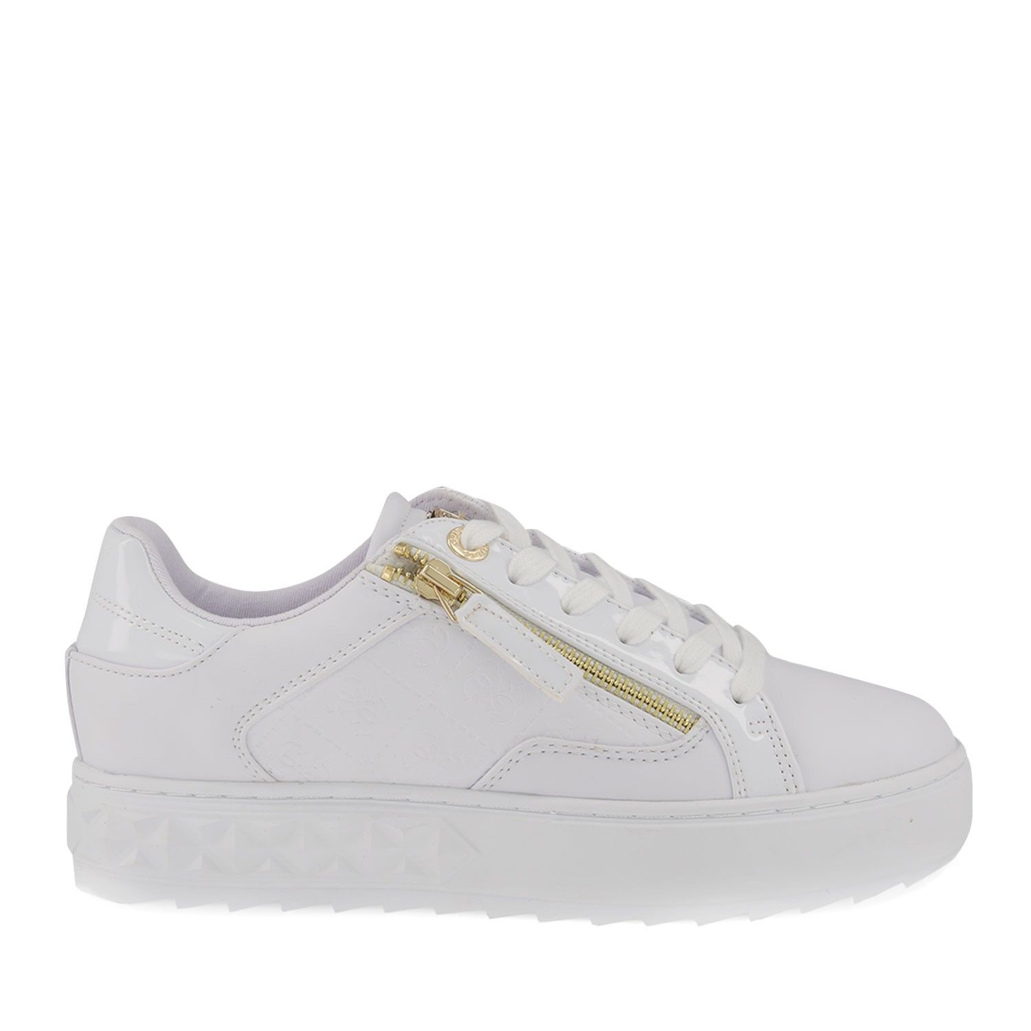 Guess FL6FIIFAL12 womens sneakers white