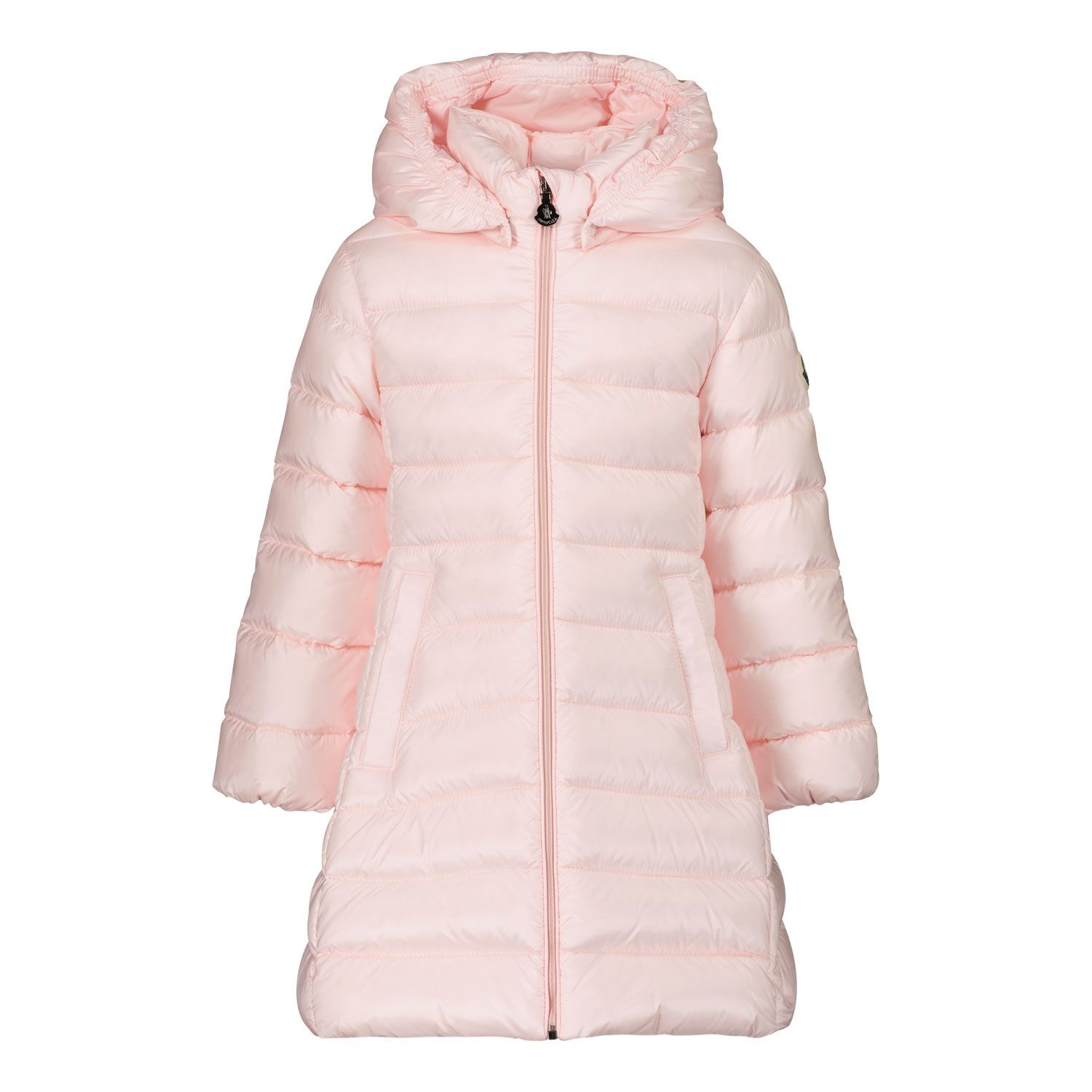 Picture of Moncler 1C50510 baby coat light pink