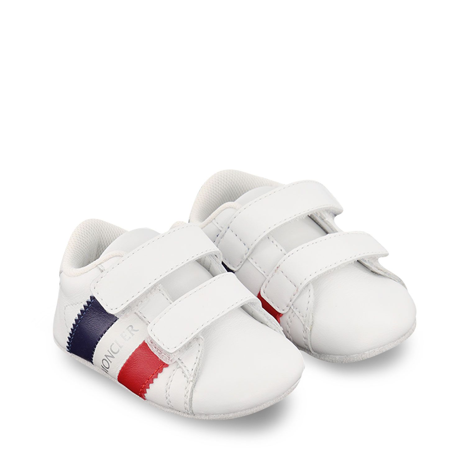 Picture of Moncler 4M70000 baby shoes white