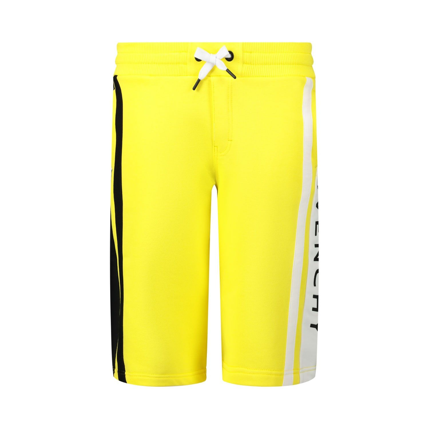 Picture of Givenchy H24079 kids shorts yellow