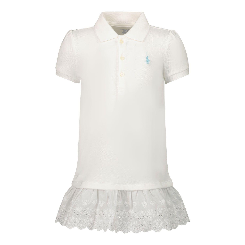 Bild von Ralph Lauren 310835047 Babykleid Weiß