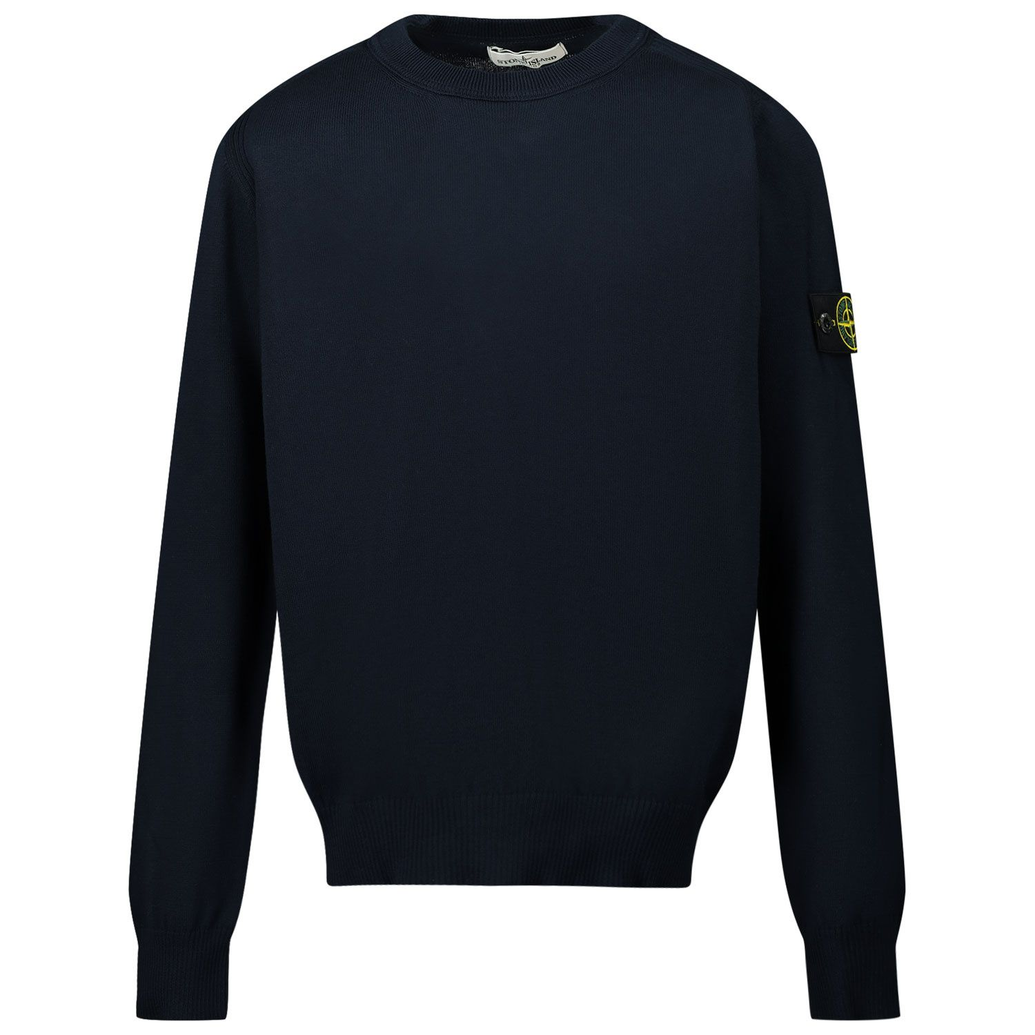 Picture of Stone Island 502A4 kids sweater navy