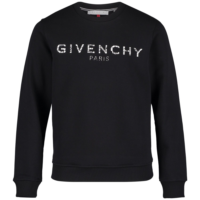 Afbeelding van Givenchy H25110 kindertrui zwart